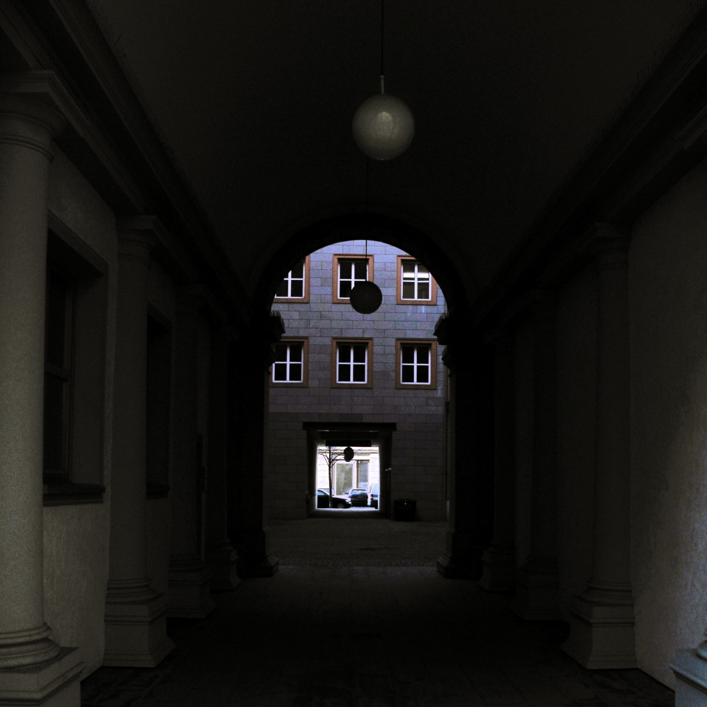 Berlin alley, 9.02.09