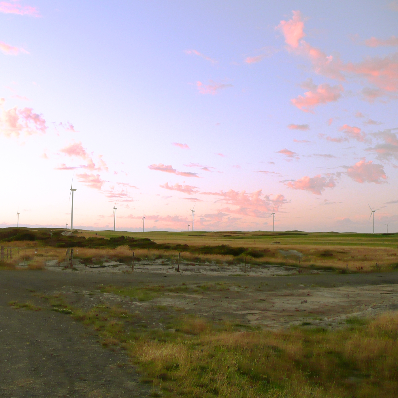Woolnorth sunset, 29.12.07