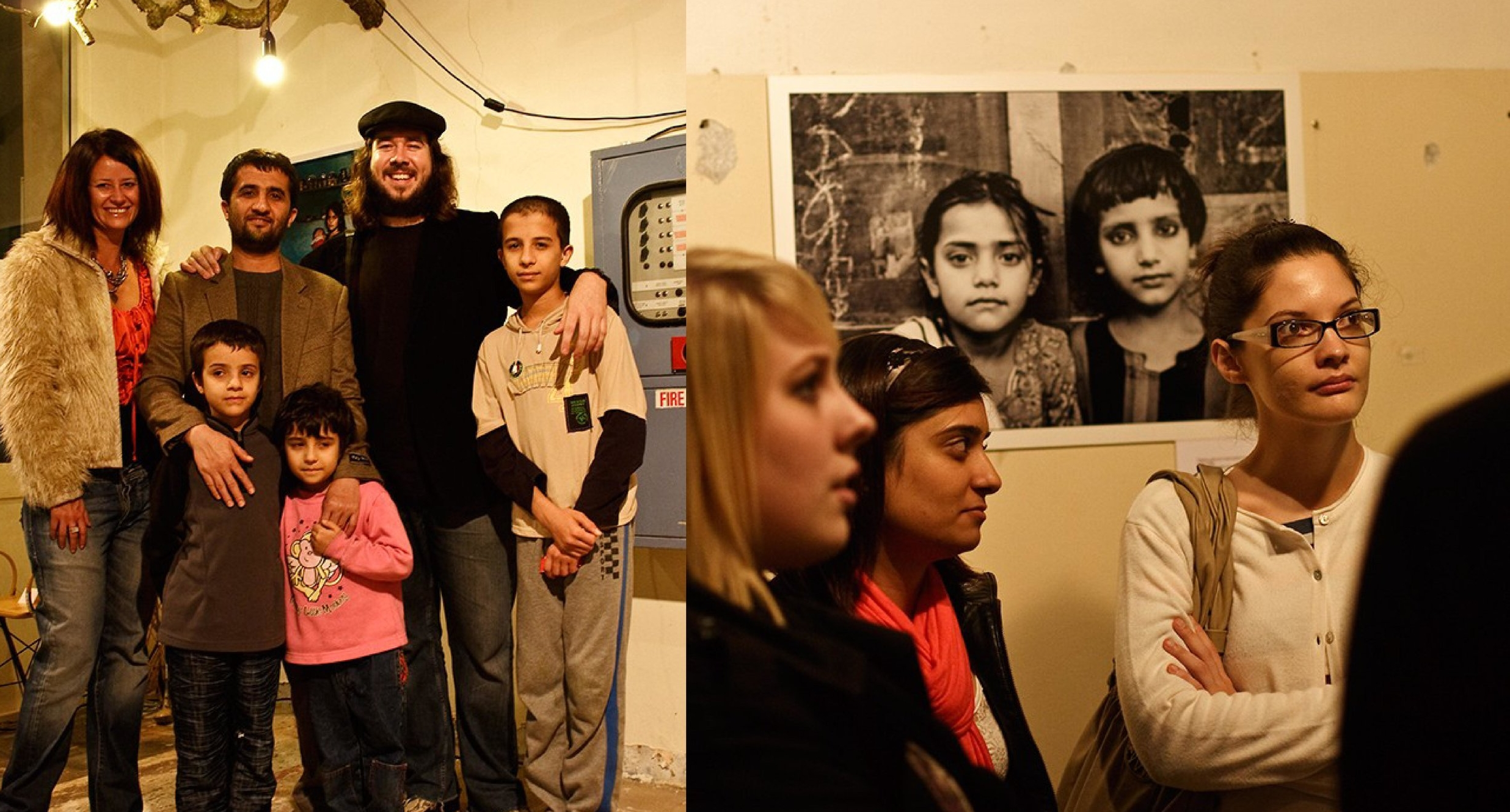 Hamish Cairns exhibition  Pakistan: Faces from the frontline