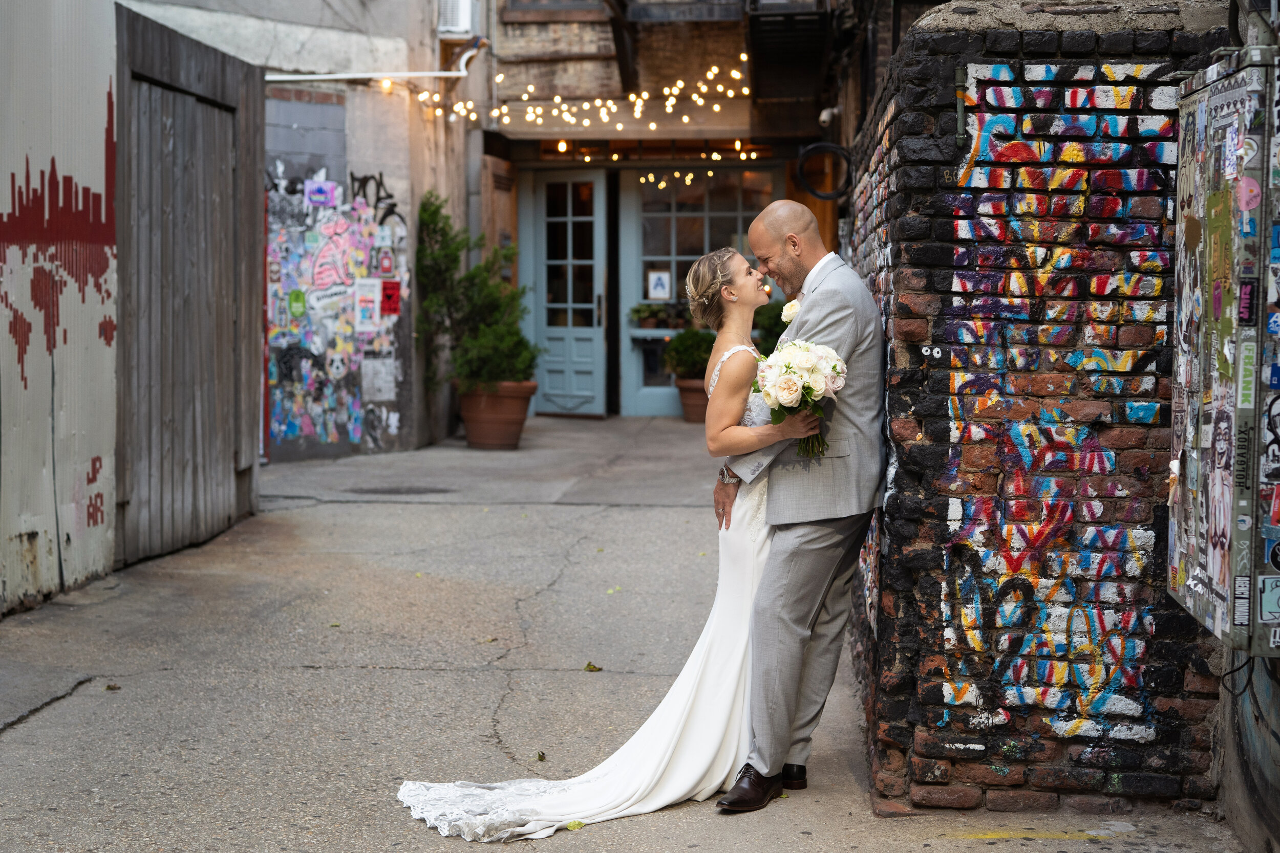 Married in New York City - Hollie & Simon