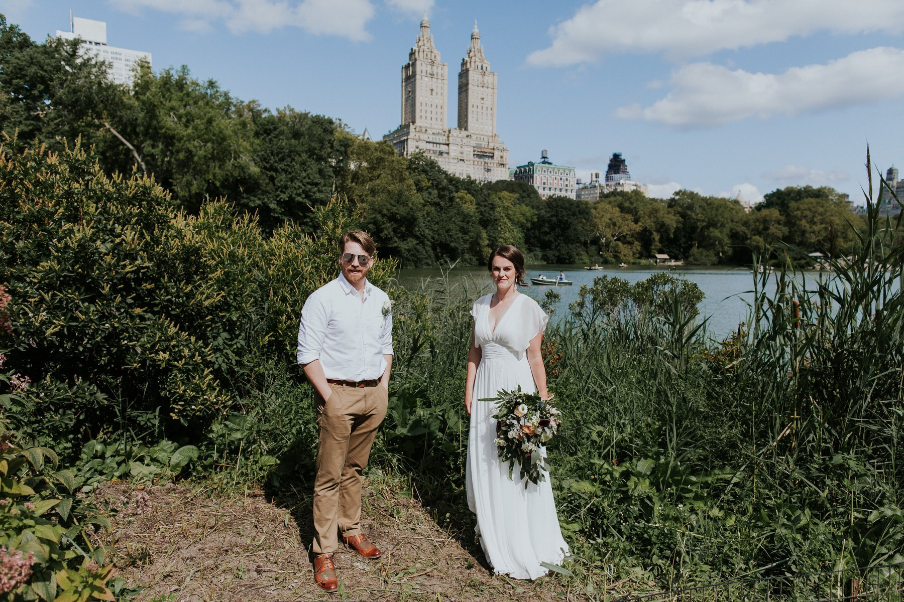 Married in New York Central Park