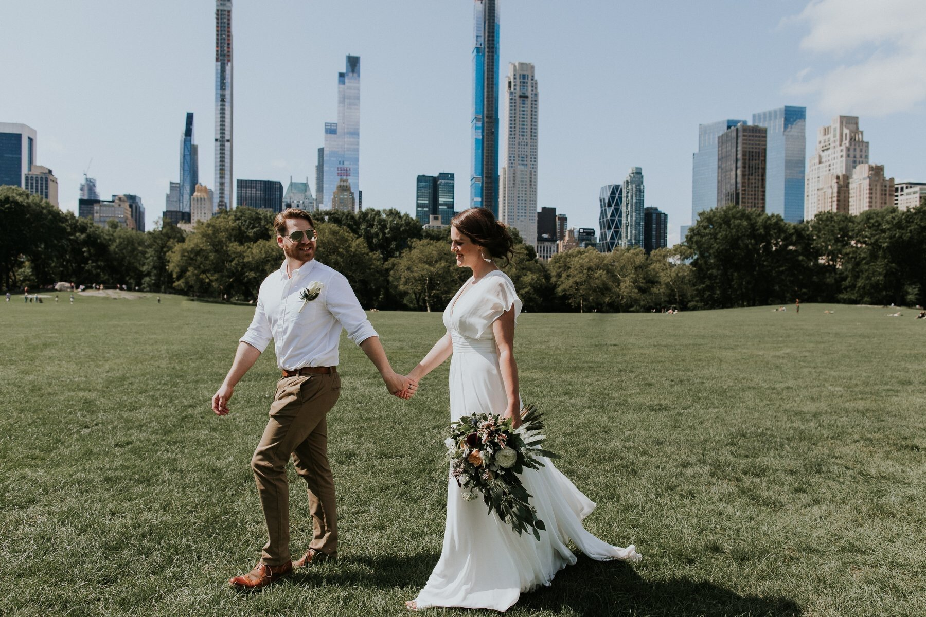 Married in NYC Central Park - Amy & Mark