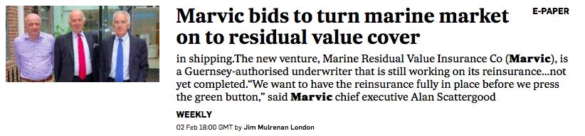 Marvic News