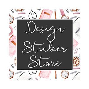 DESIGN STICKER STORE    50% OFF $10+