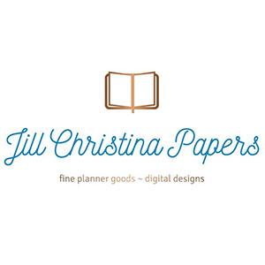 JILL CHRISTINA PAPERS    30% OFF NO MINIMUM