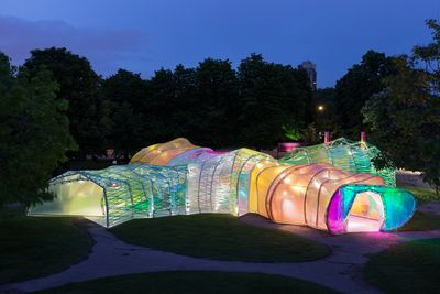 The Serpentine's piñata pavilion, Published in The Times Literary Supplement (online), June 24, 2015