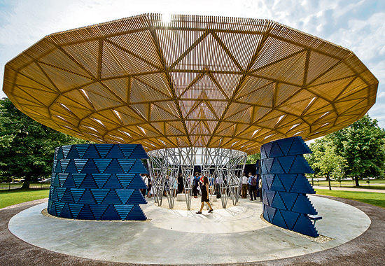 Celebratory Serpentine Pavilion, Published in The Times Literary Supplement (online), June 29, 2017