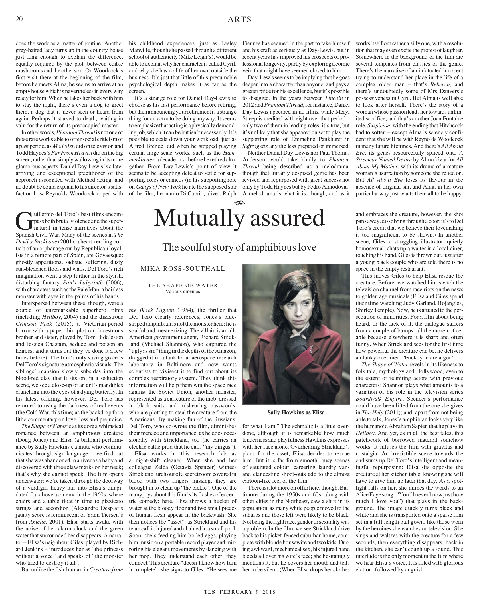 Mutually Assured, Published in the Times Literary Supplement, February 9, 2018