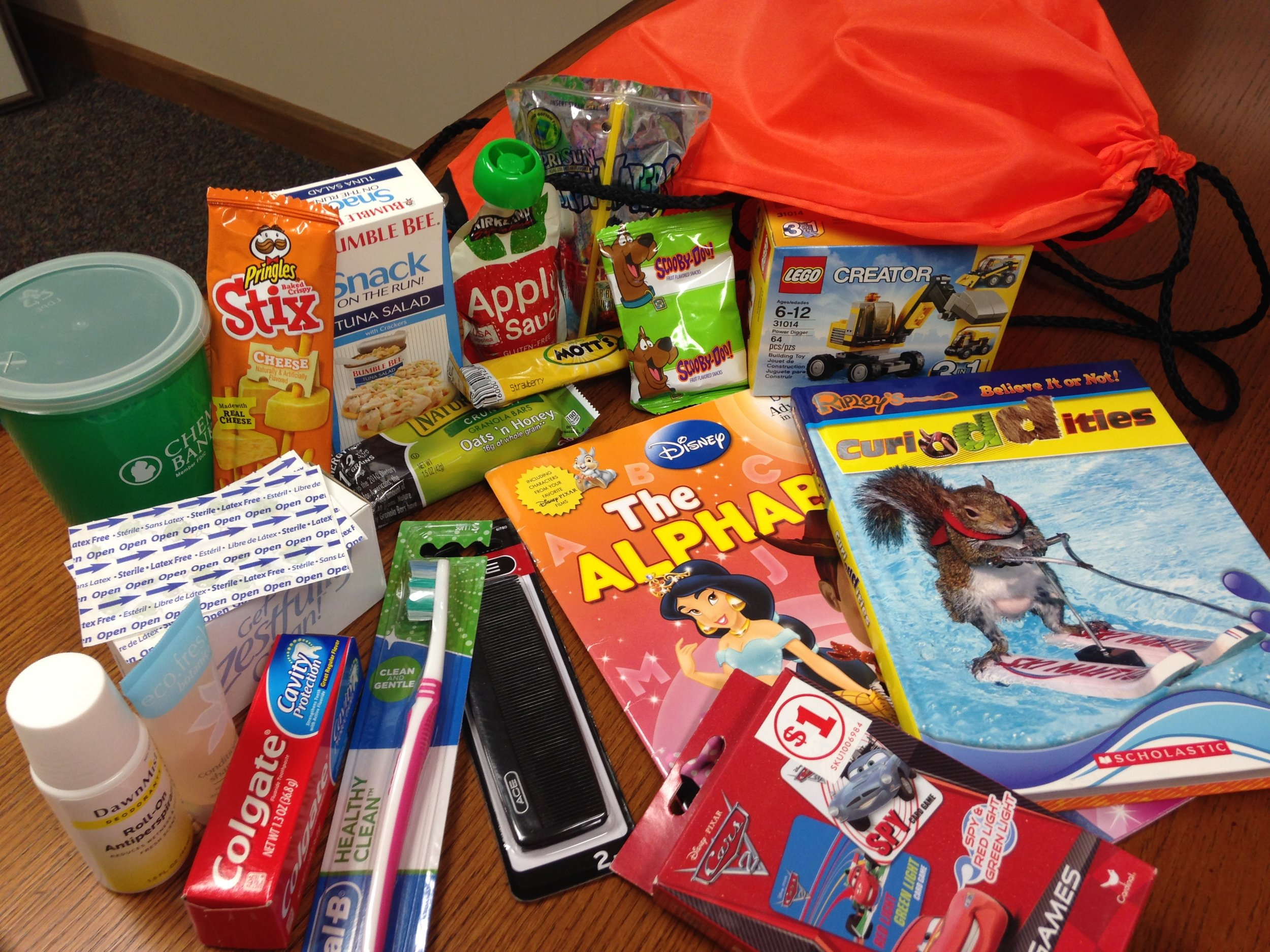 Back Packs for Kids Emergency Pack    Donations can be dropped off at Lake City Christian Reformed Church, 1657 S. Morey Rd. Lake City MI