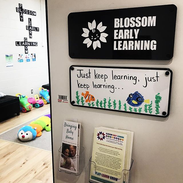 You can really feel the amazing energy @blossom_early_learning #northbayontario 💜❤️💙💚💛🧡