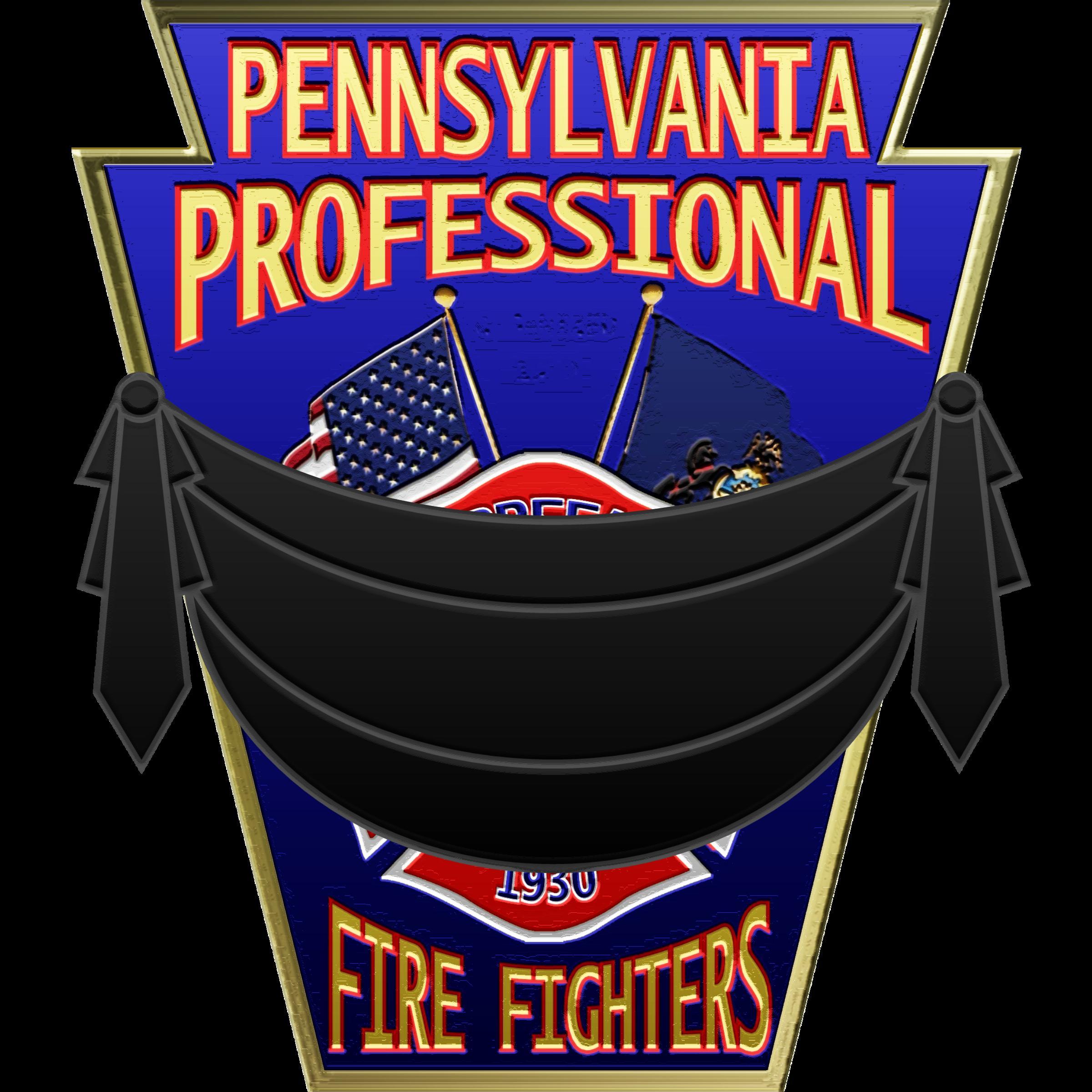 PPFFA Logo w/banner  PPFFA Logo with black mourning banner