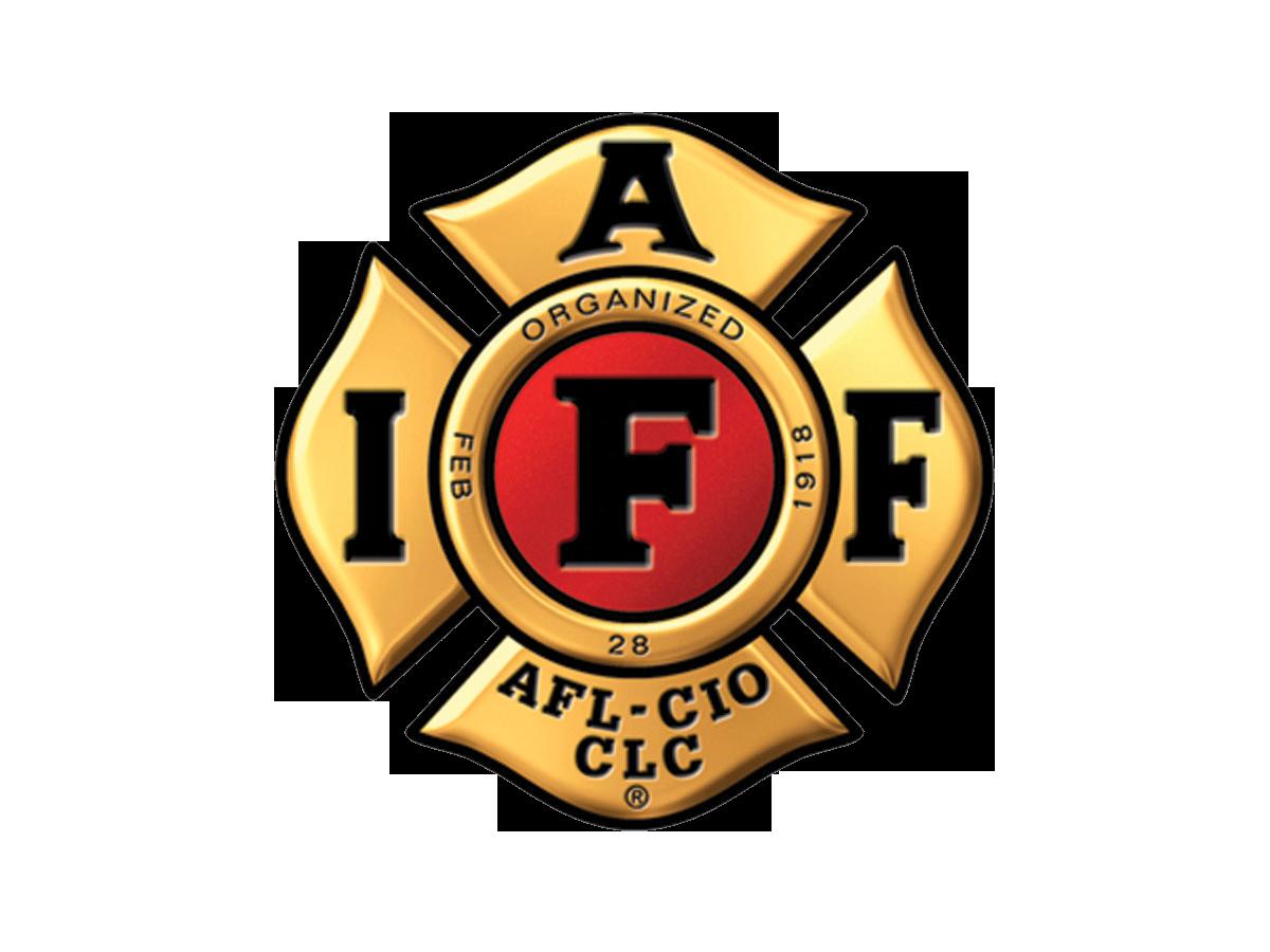 IAFF Logo  Gold IAFF Logo