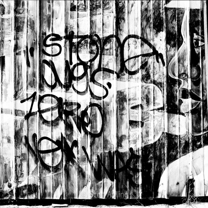 Graffiti on 7th