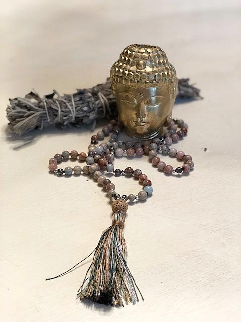 Mala beads by  Alchemist Treasures .