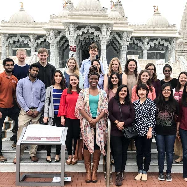 Sacred Sites Tour - Offered to medical, nursing, and dental students, this experiential elective course brings cohorts of future healthcare professionals to houses of faith across Houston in order to learn about their respective traditions as well as their views on health and healing.LEARN MORE