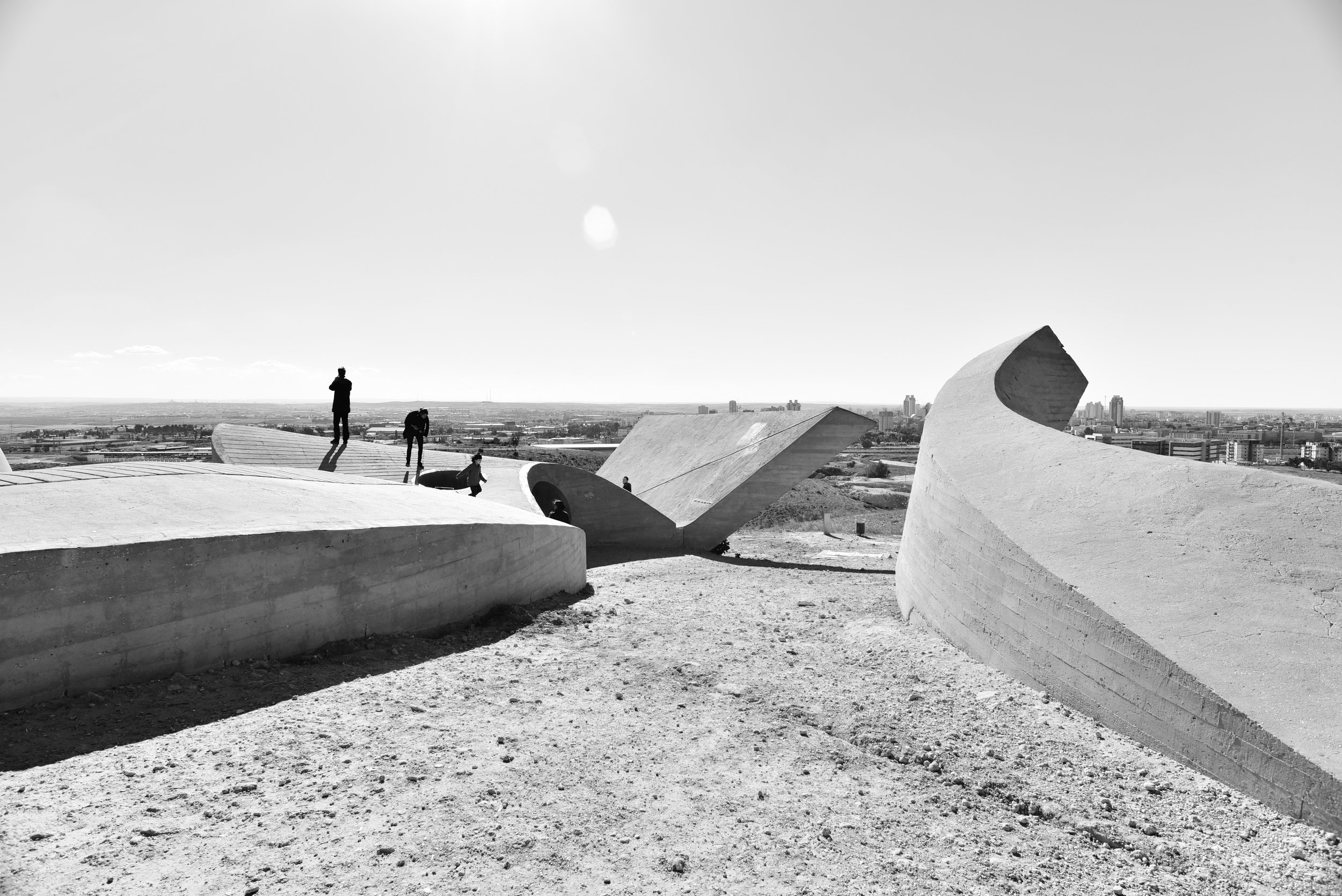 Monument to the Negev Brigade,Be'er Scheva, Israel