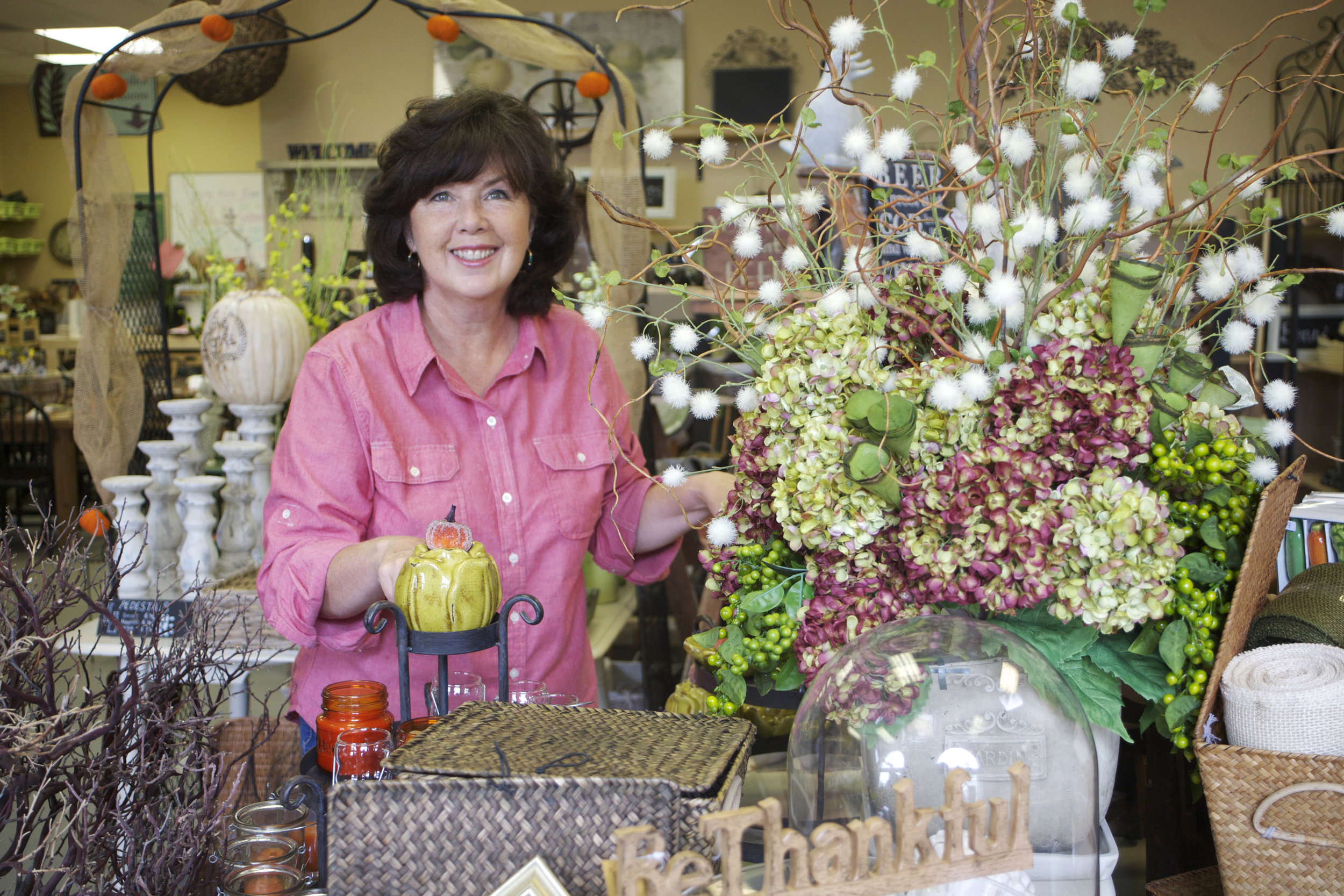 Seasonal Decor & Floral Demos -