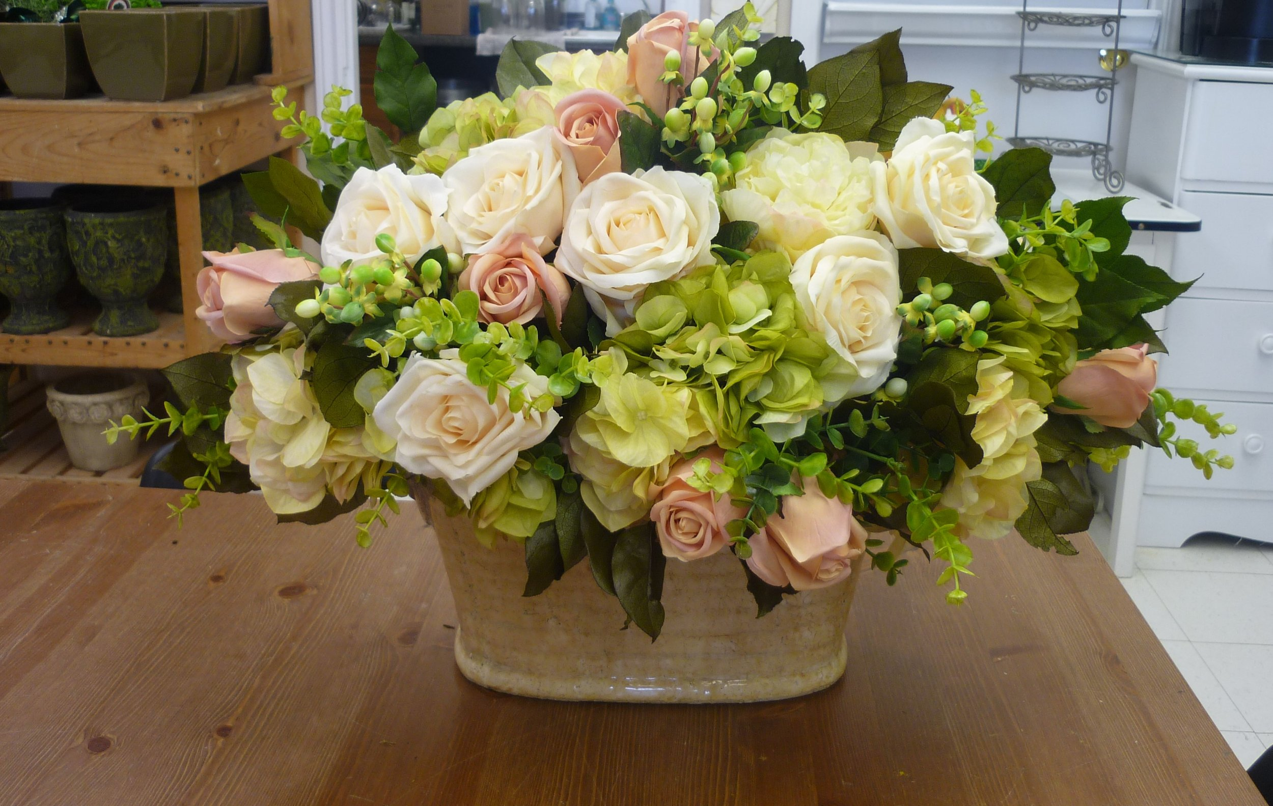 Seasonal Fresh Floral Centrepiece Workshops -