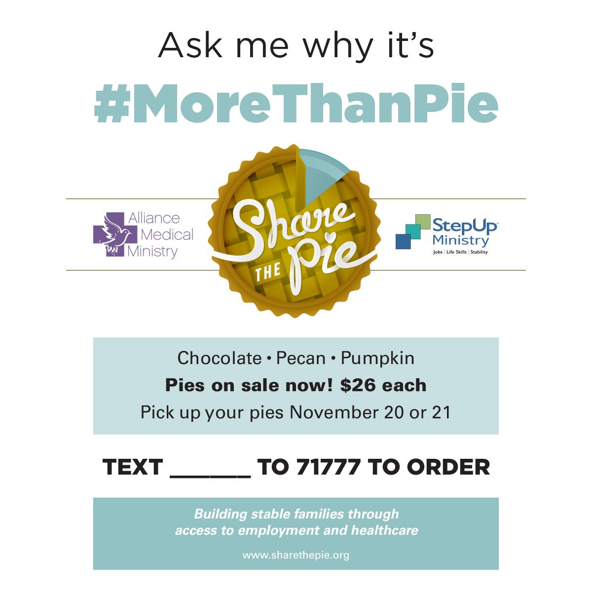 Pie Seller Flyer -