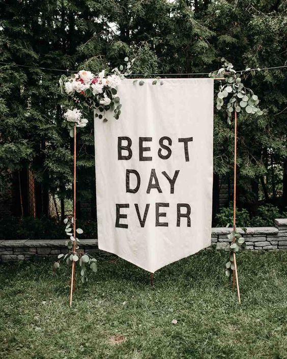 Photo via  Martha Stewart Weddings