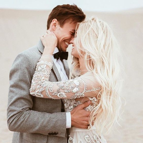 Photo via  Bridal Musings
