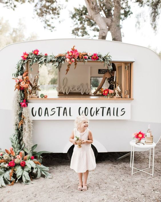 No. 1 For the adventure, coastal and colorful bride!