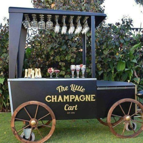 No. 5 For the Bride that loves a pop of champagne!