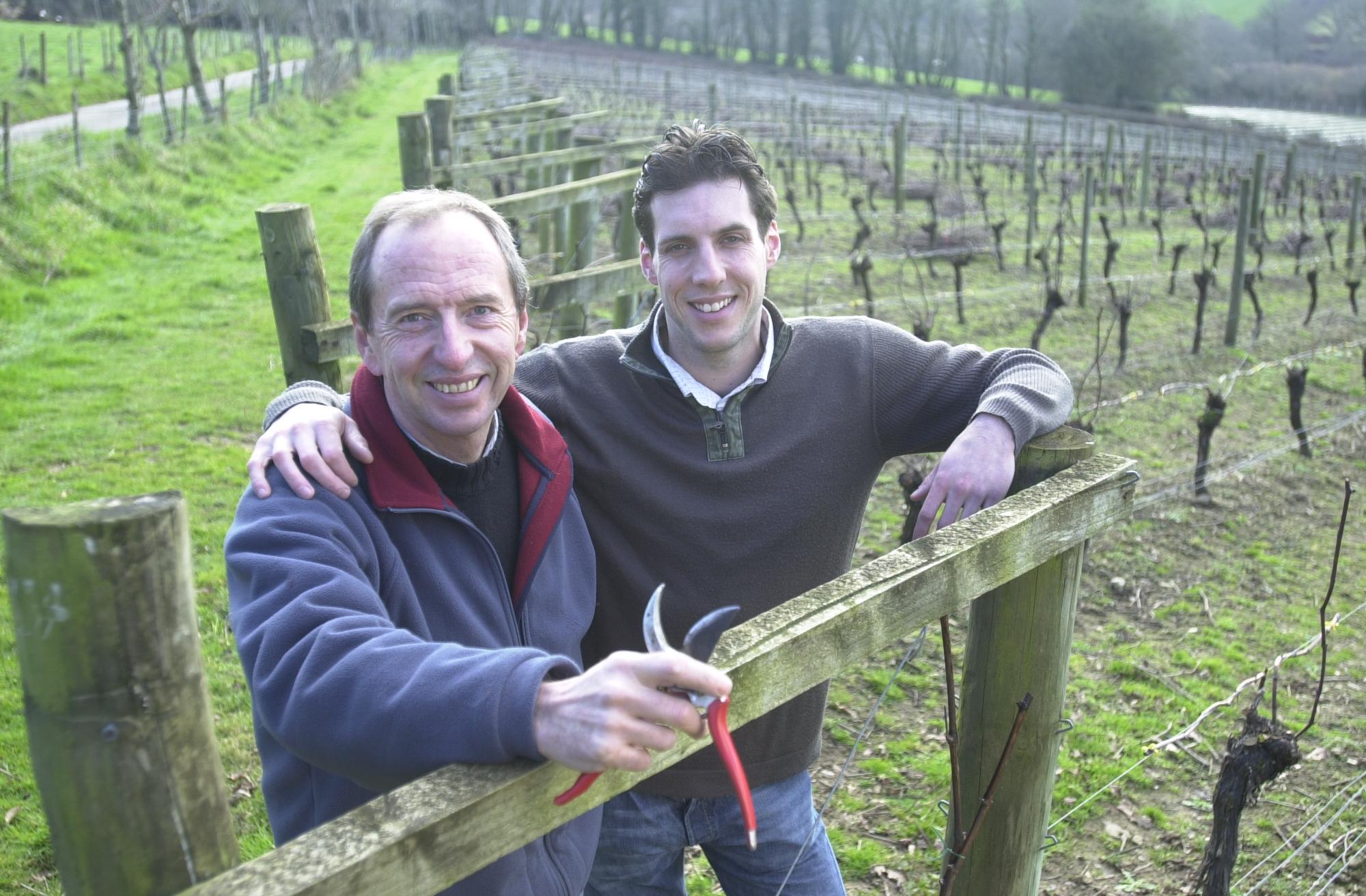 Bob & Sam in the Vineyard.jpg