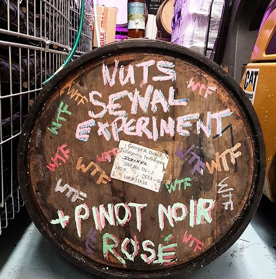 We like to experiment and our customers like us to make interesting wine styles and break the rules.  - Photo Credits: @renegadelondonwine