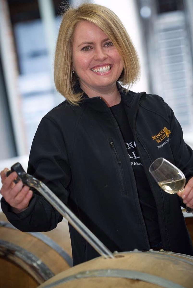 Emma Rice - Head Winemaker at Hattingley Valley in Hampshire.