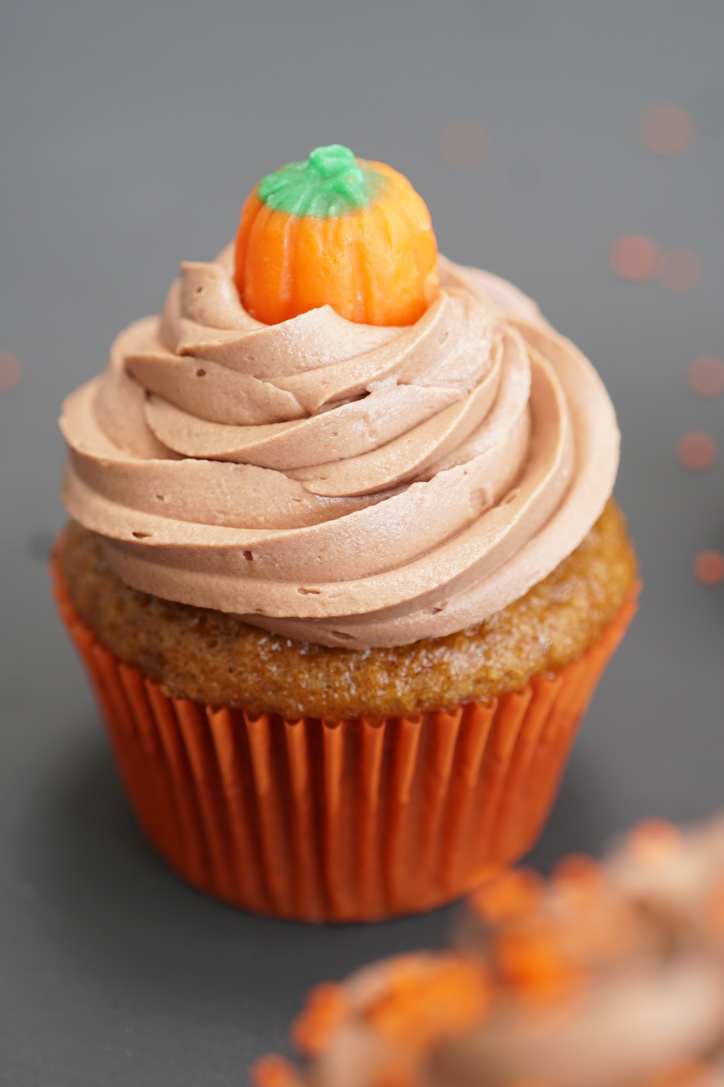 Pumpkin Cupcake with SoChatti Icing D.jpg