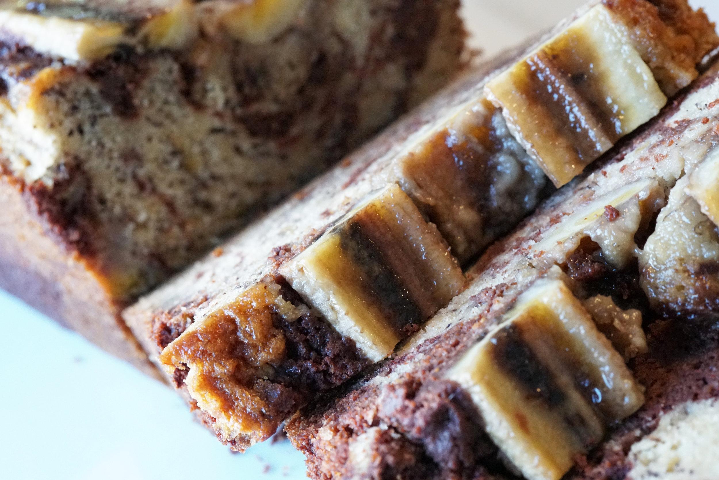 Chocolate-Banana-Bread-Banana-Top-Fjpg