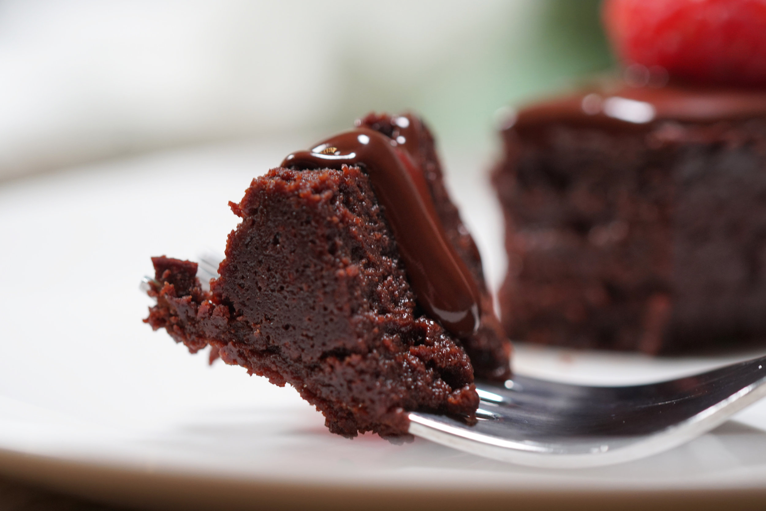 Flourless Chocolate Cake with Raspberries E.jpg