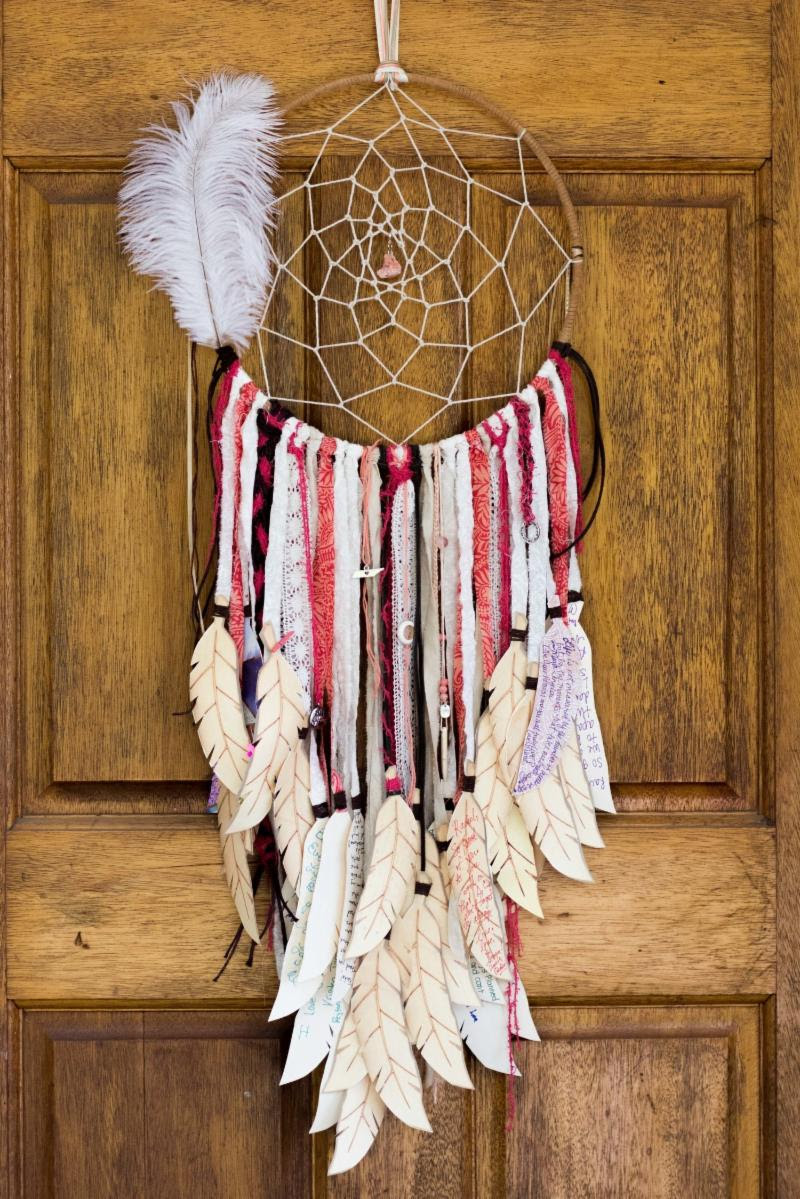 dreamcatchers are among the internationally-inspired creations offered by Sparks of Hope Creative Alliance.