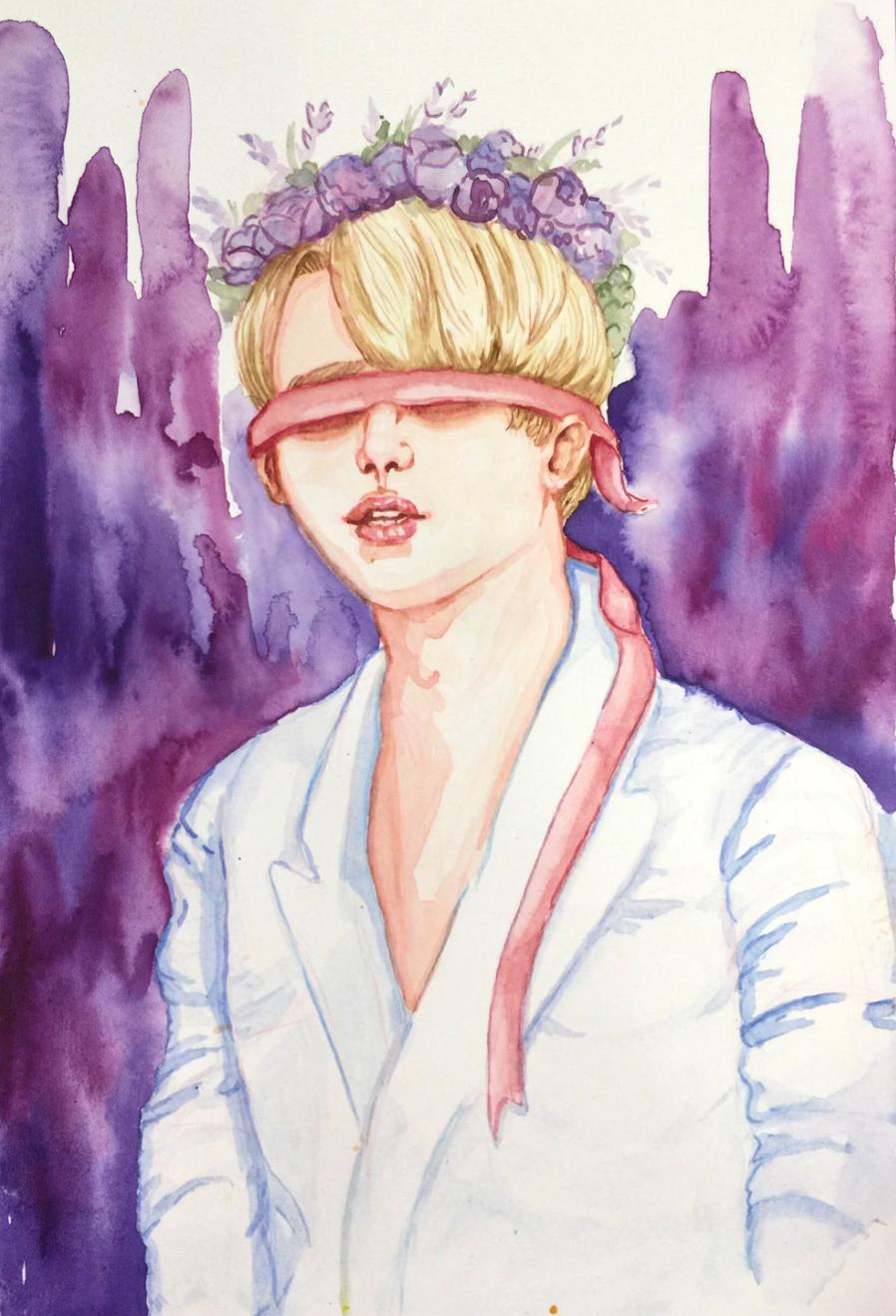 Watercolor by Leela Trumbo