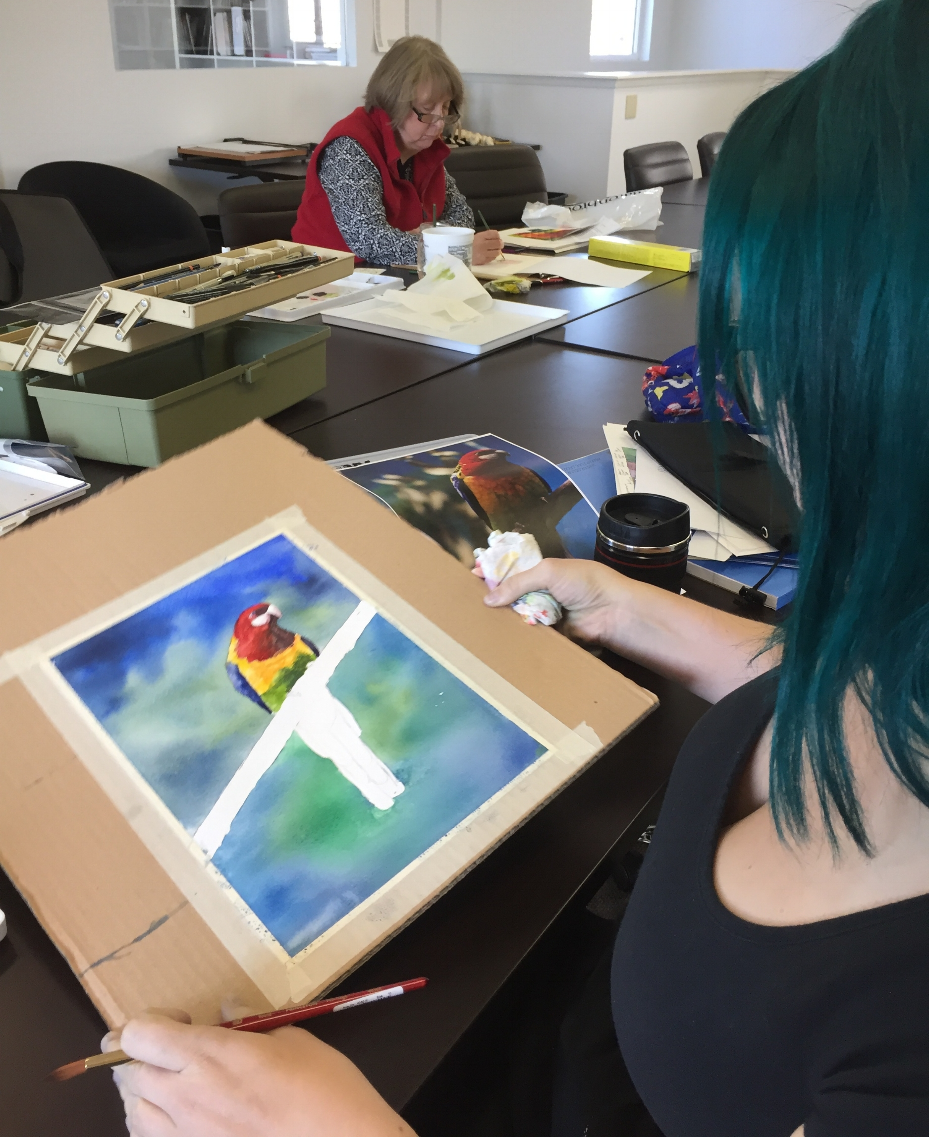 Watercolors for Adults with Lynnea Mattson