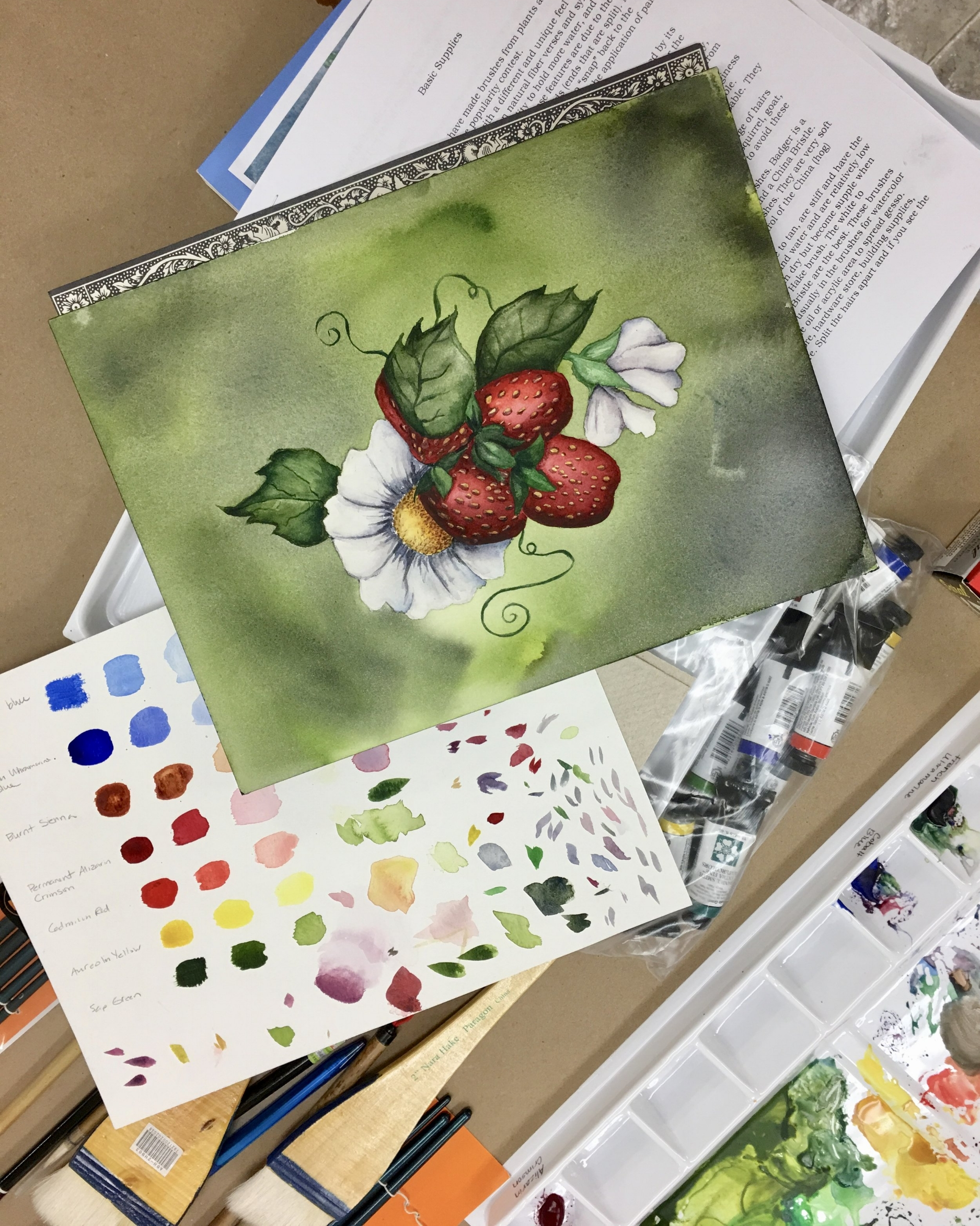 Beginning Watercolor for Adults & Teens with Lynnea Mattson