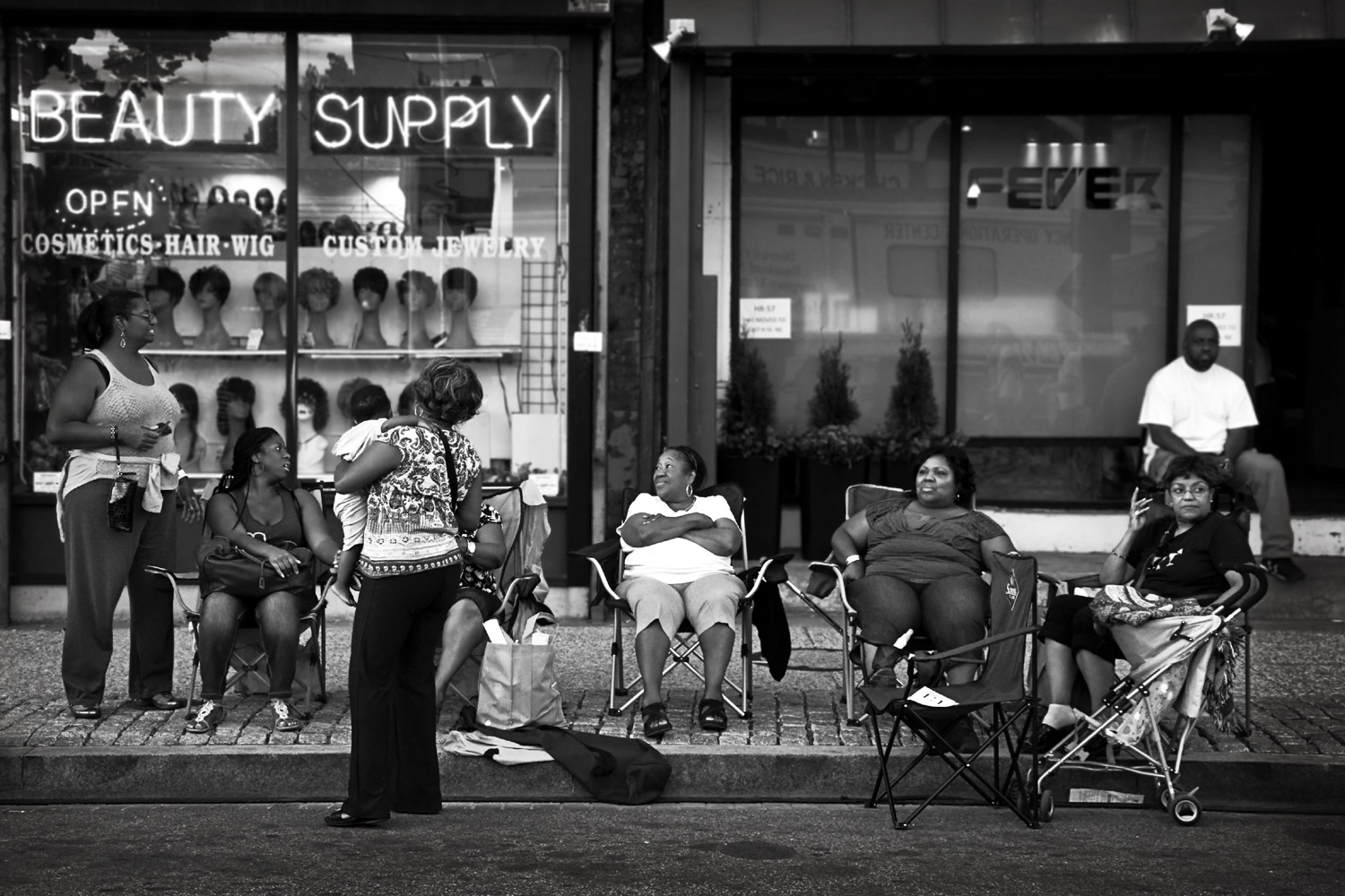 Women on H street - Washington, DC, 2012