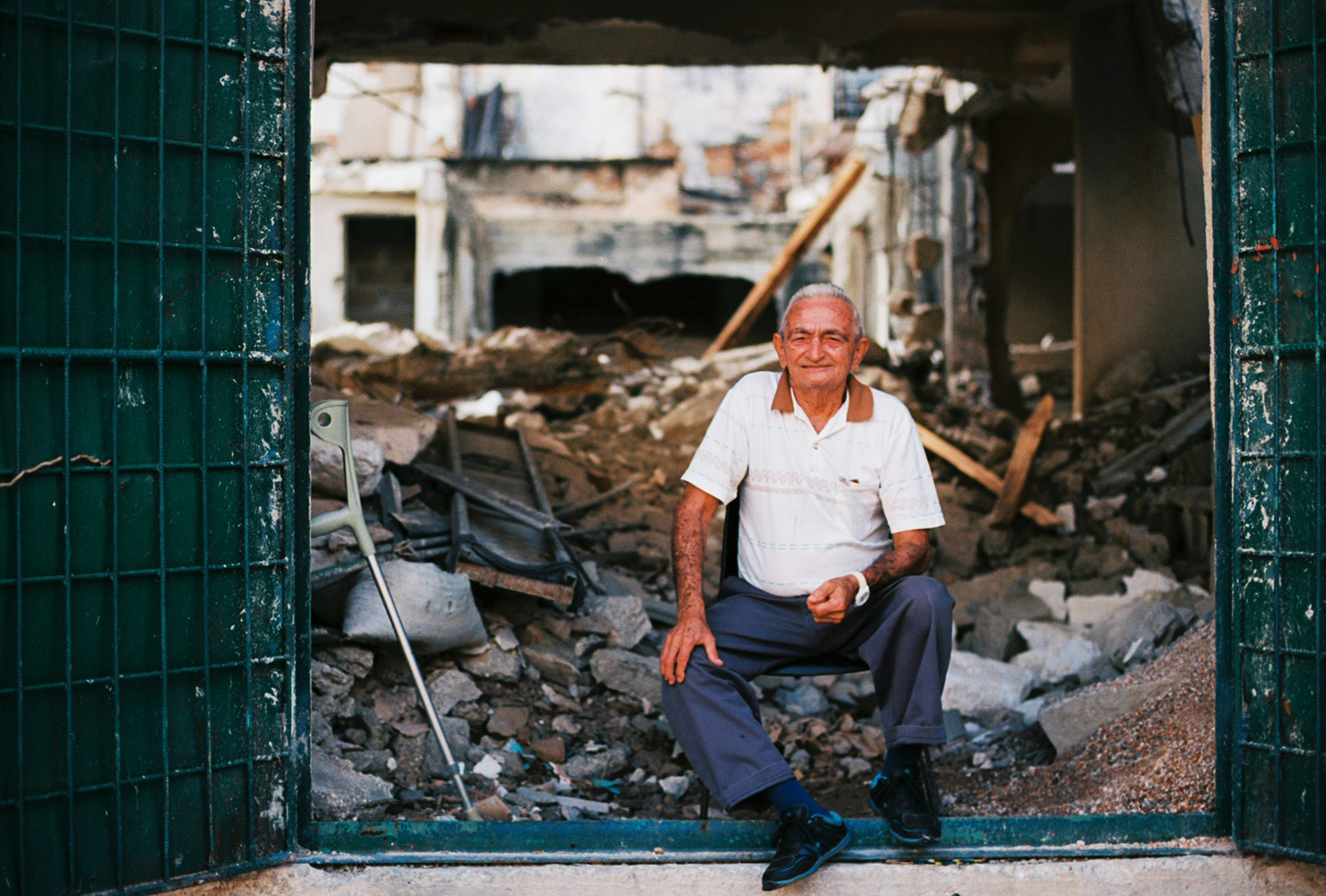 Old security guard - La Habana, Cuba, 2016
