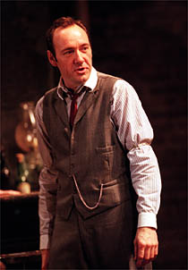 Kevin Spacey as Hickey in 1999.