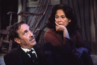 Jason Robards and Colleen Dewhurst in  A Moon for the MIsbegotten  1973.