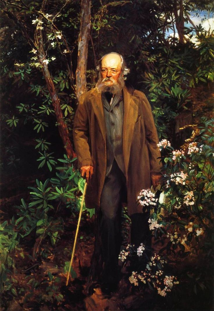 Frederick Law Olmsted, by John Singer Sargent