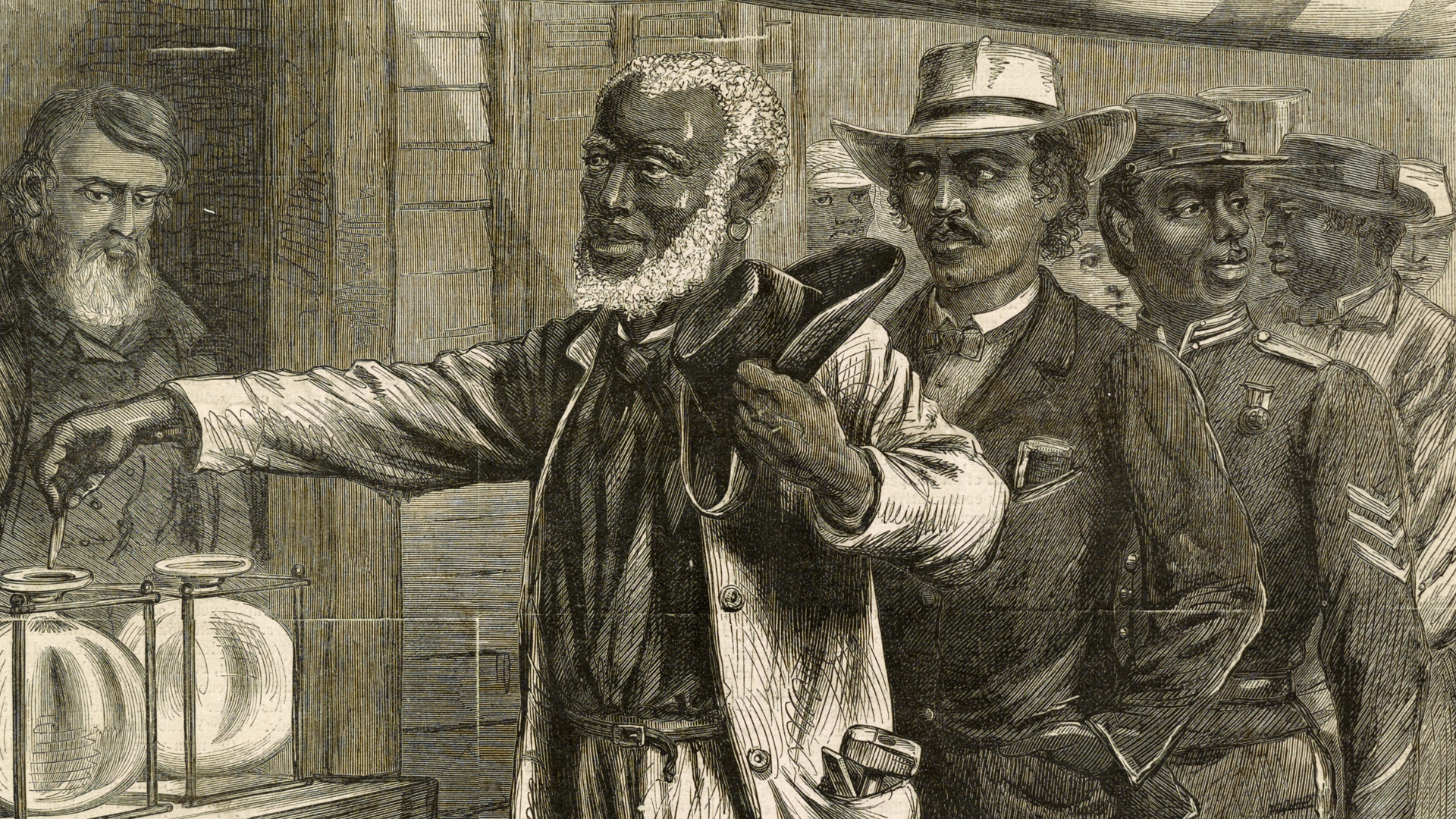 The 15th Amendment enfranchised African Americans during Reconstruction.