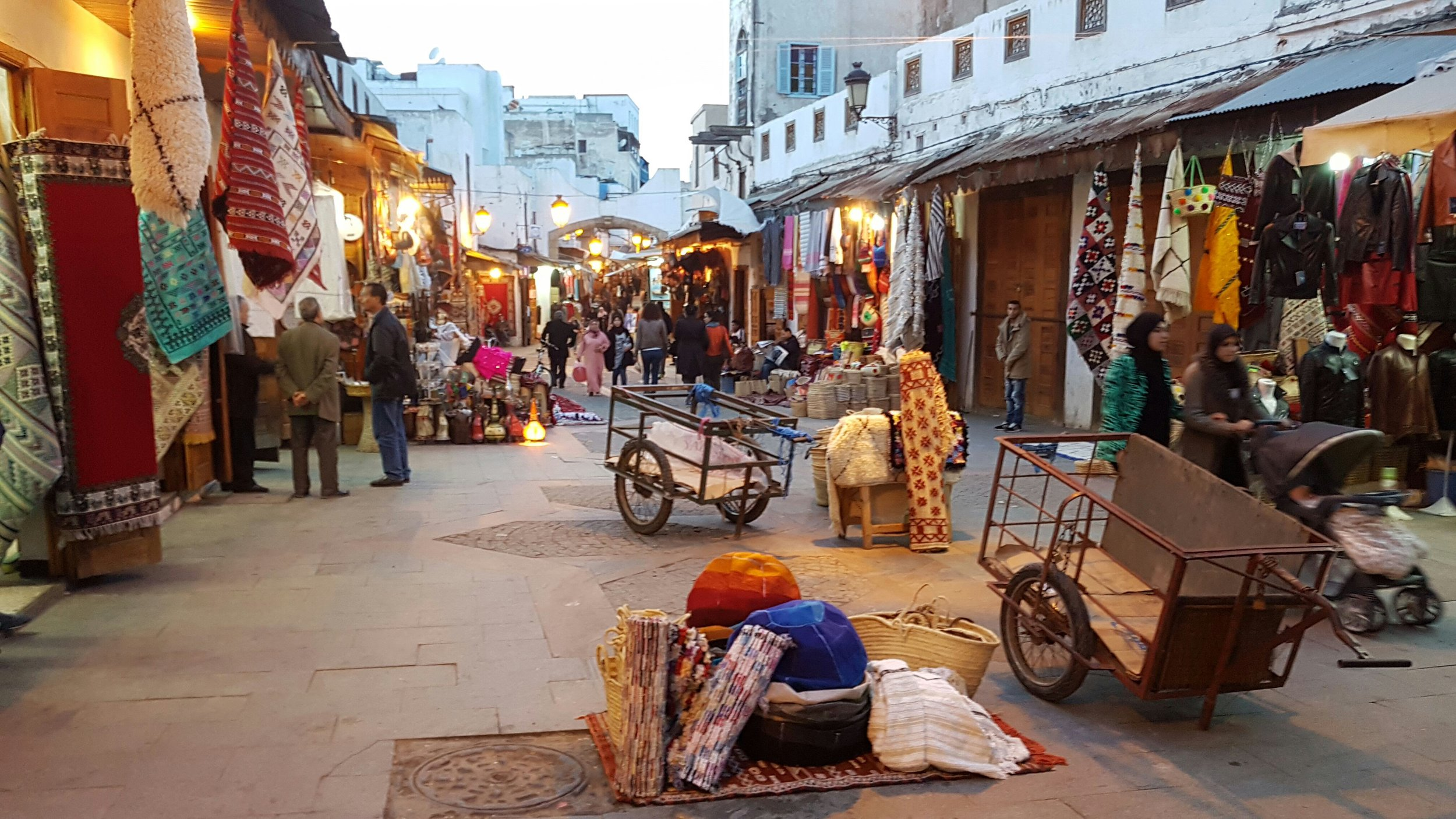 Rabat Medina Scene