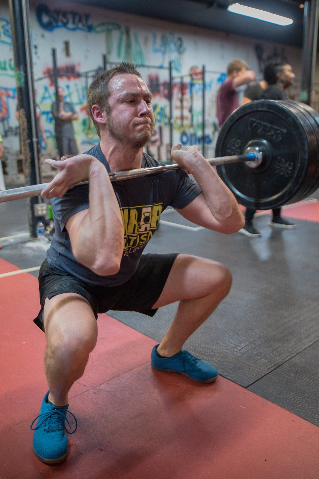 "Matt Blanton, Head Coach    Specializations  CrossFit Level 2 Trainer CrossFit Movement and Mobility OPEX Assessment OPEX Program Design OPEX Business B.S. Exercise Science  Matt started his CrossFit journey in January 2013 at Iron Forged Athletics in Fayetteville, NC. He attended Bob Jones university, graduating with his degree in exercise science in 2011. He has had an amazing opportunity to work at many CrossFit gyms, adding experience and knowledge to his resume. Matt is our head trainer at CrossFit S3 and works hard to ensure safe, progressive, and efficient programming to our members. You will always see him moving around in class and giving advice to members on how to move better and smarter. Matt loves CrossFit, but his love for Christ is the most important thing in his life. ""I strive to live my life the best I can for Him everyday and give Him the glory He deserves."""