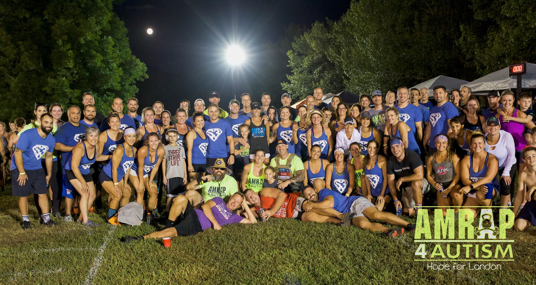 Team CROS3FIT at the 2018 AMRAP 4 AUTISM, Winners of the largest South Carolina Affiliate