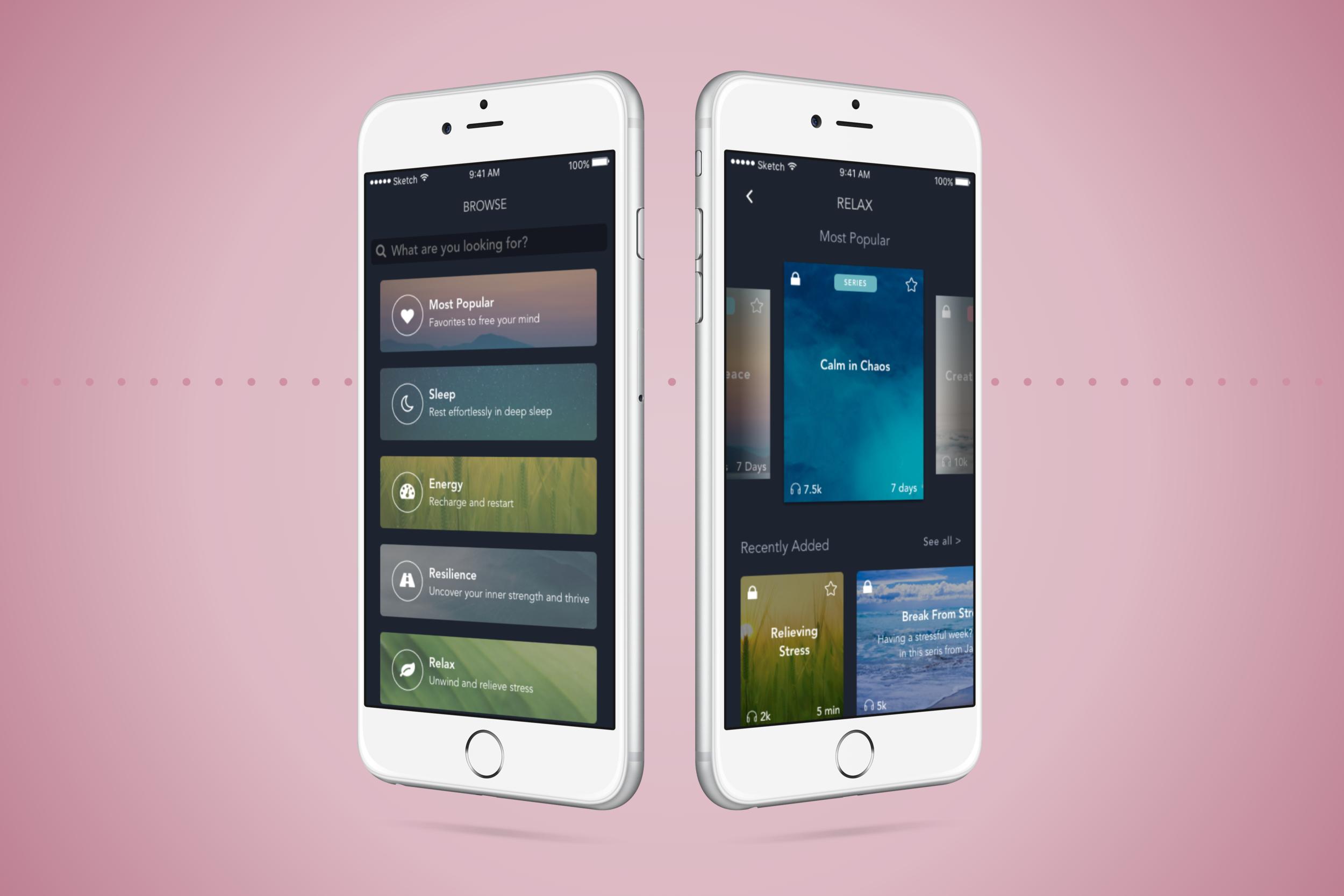 Simple HabitiOS Mobile App Redesign - view now >
