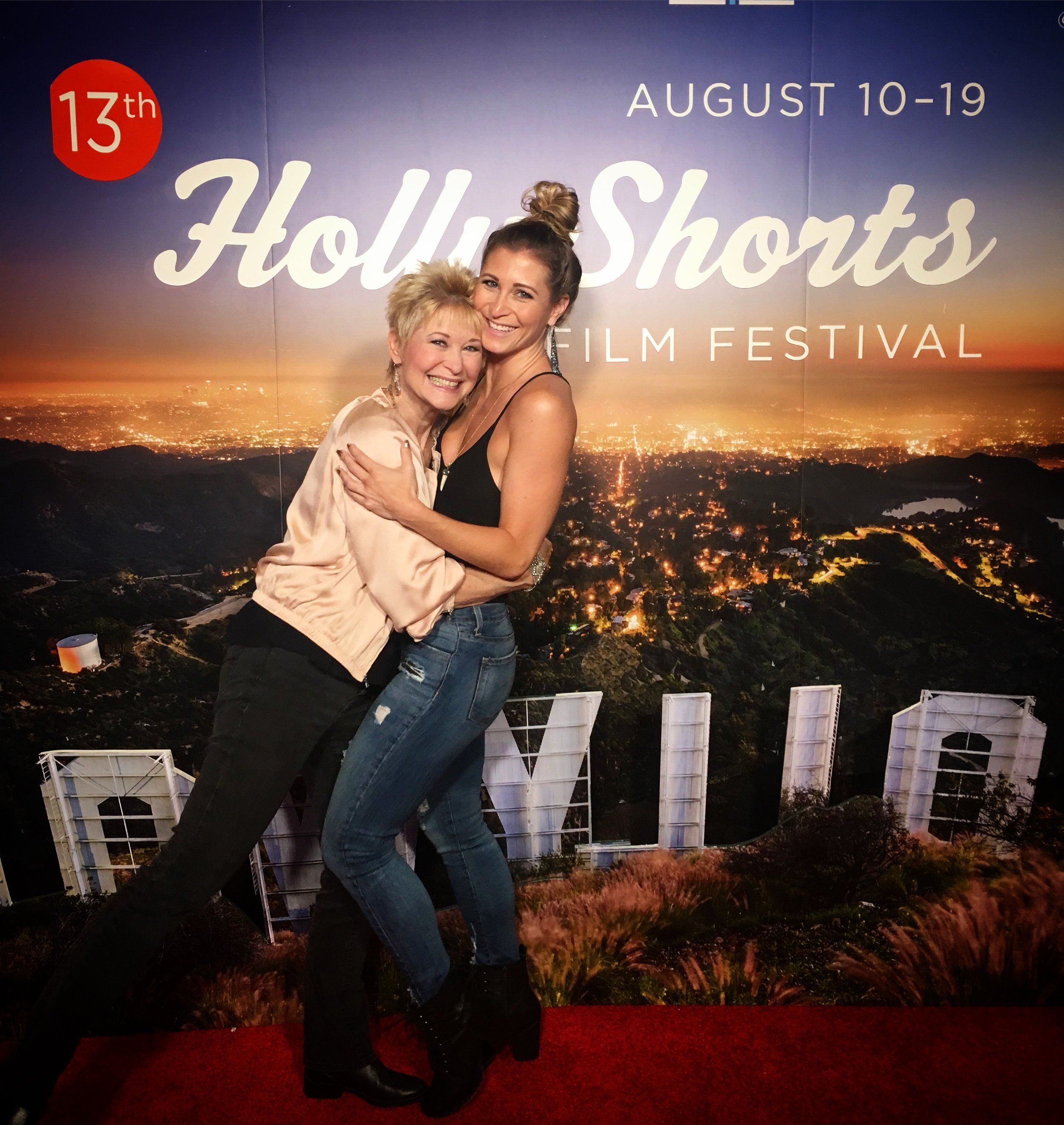 Yes-Dee and Gabrielle - Hollywood Shorts.JPG