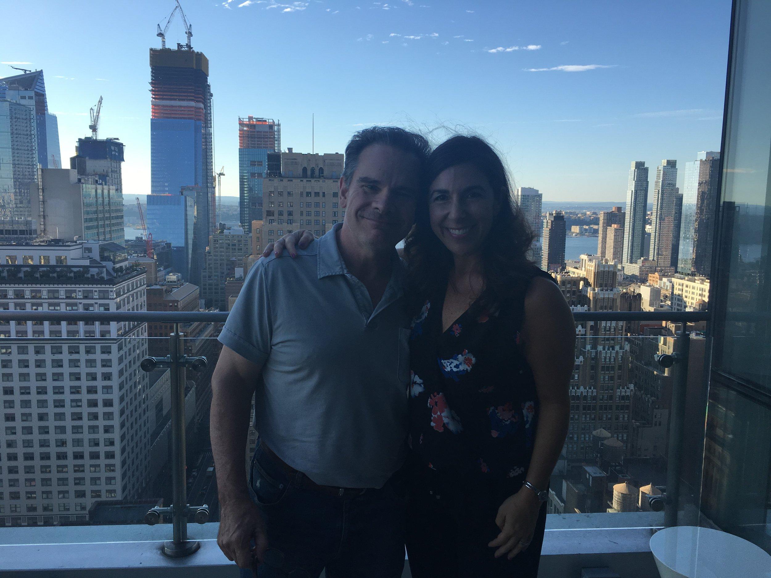 Peter Scolari and Kara Mayer Robinson