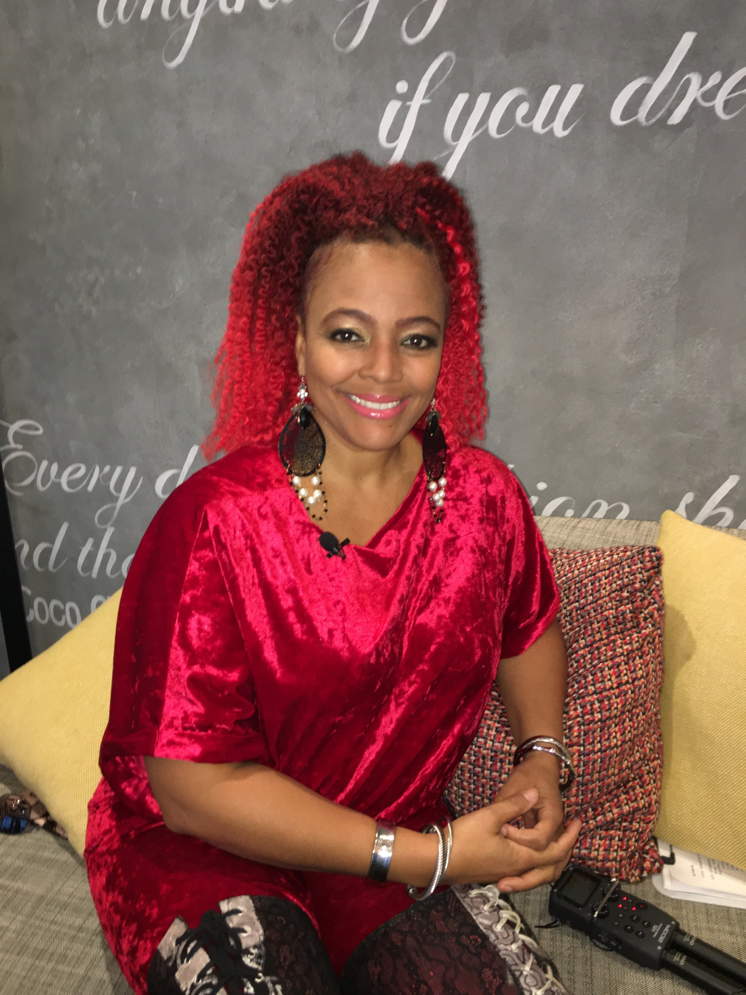 Kim Fields - Really Famous Podcast guest.JPG